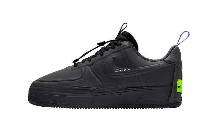 Nike Air Force 1 Low Experimental Black CV1754-001 01