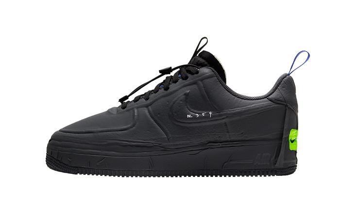 Nike Air Force 1 Low Experimental Black CV1754-001 01
