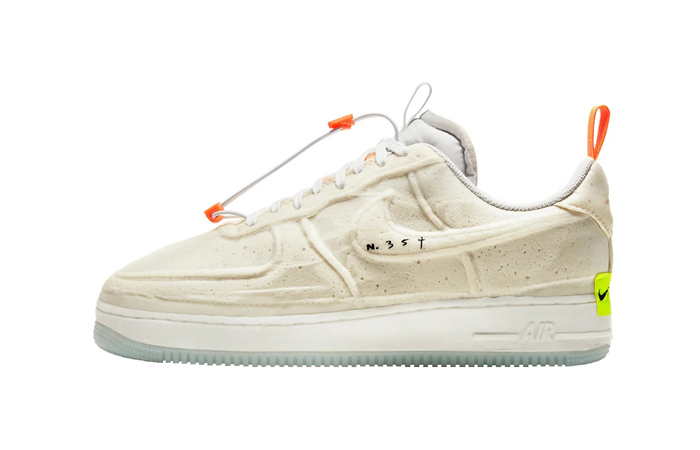 Nike Air Force 1 Low Experimental Sail Atomic Orange CV1754-100 01