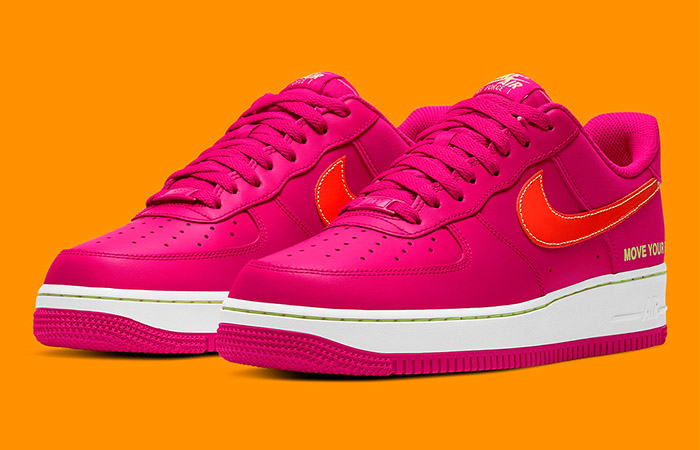 Nike Air Force 1 World Tour Magenta White DD9540-600 02