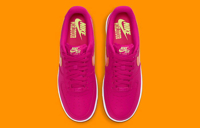 Nike Air Force 1 World Tour Magenta White DD9540-600 04