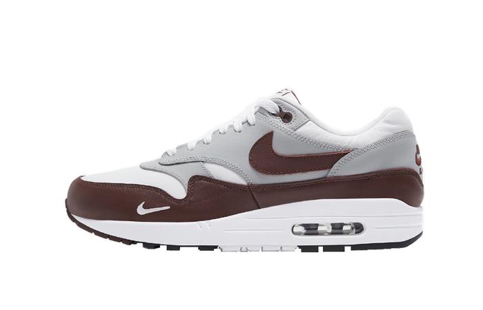 Nike Air Max 1 Premium Mystic Dates Brown Leather DB5074-101 01