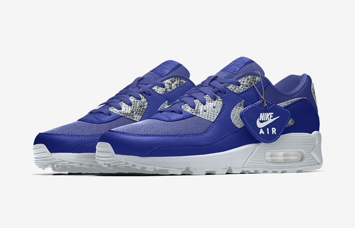 Nike Air Max 90 Premium By You Multi Womens DJ3605-991 03
