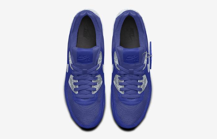 Nike Air Max 90 Premium By You Multi Womens DJ3605-991 05