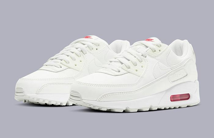 Nike Air Max 90 White CV8819-102 02