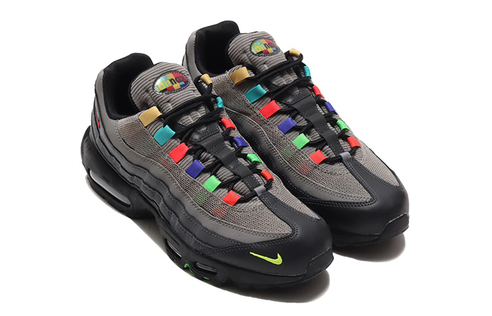Nike Air Max 95 Essential Light Charcoal Red Black CW6575-001 03