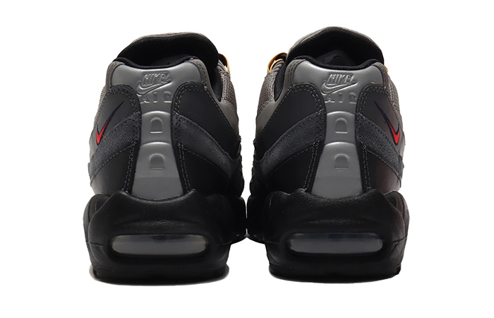 Nike Air Max 95 Essential Light Charcoal Red Black CW6575-001 06