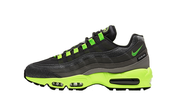 Nike Air Max 95 Kiss My Airs Black Lime Green DJ4627-001 01