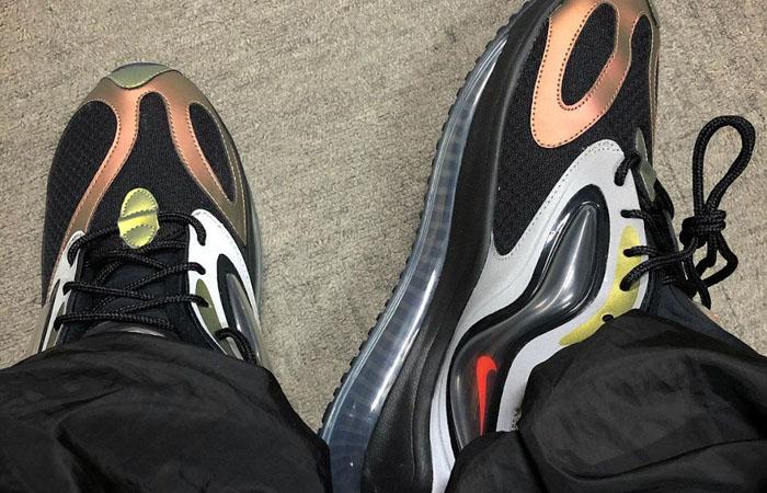 Nike Air Max Zephyr EOI Black Metallic Silver CV8834-001 on foot 01