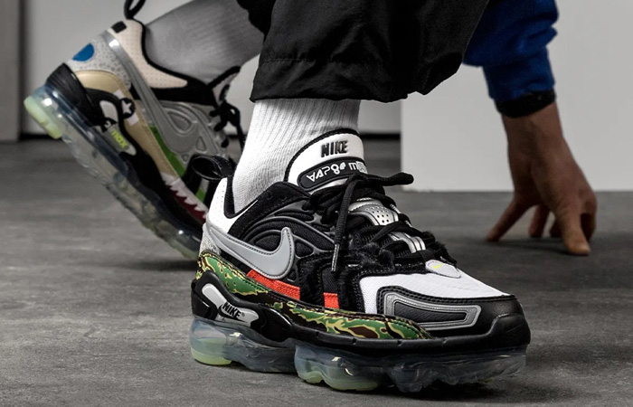Nike Air Vapormax EVO NRG What The Black Metallic Silver DD3054-001 on foot 02