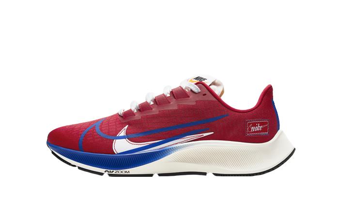 Nike Air Zoom Pegasus 37 Gym Red Game Royal CQ9908-600 01