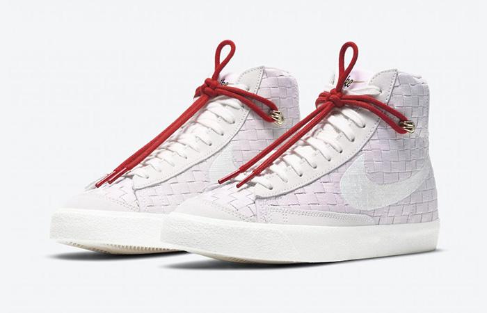 Nike Blazer Mid 77 Sashiko Barely Rose Red DD5402-078 02