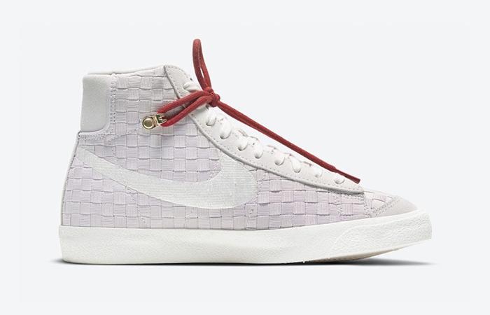 Nike Blazer Mid 77 Sashiko Barely Rose Red DD5402-078 03