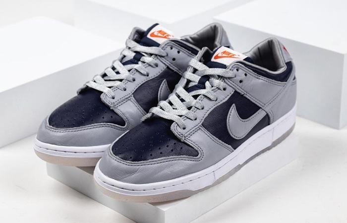 Nike Dunk Low College Navy Wolf Grey Womens DD1768-400 03