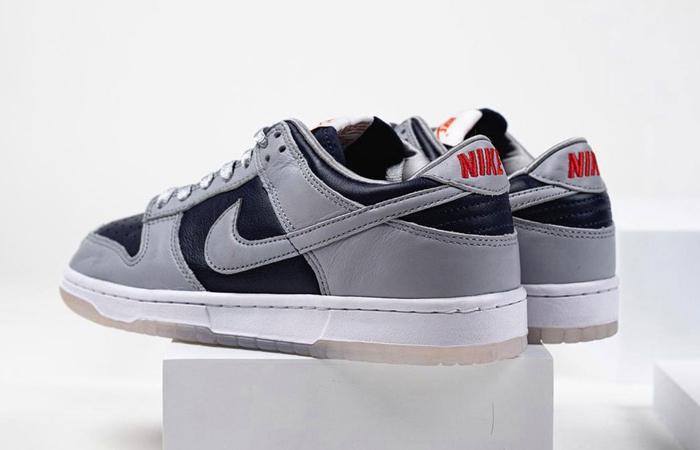Nike Dunk Low College Navy Wolf Grey Womens DD1768-400 04