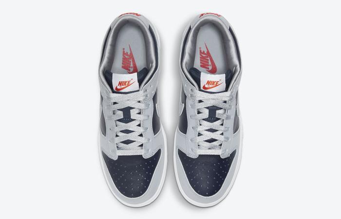 Nike Dunk Low College Navy Wolf Grey Womens DD1768-400 07