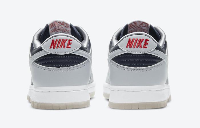 Nike Dunk Low College Navy Wolf Grey Womens DD1768-400 08