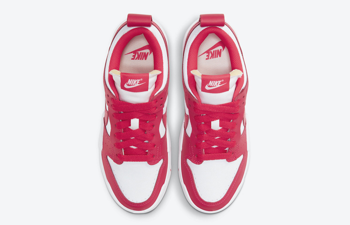 Nike Dunk Low Disrupt Siren Red White Womens CK6654-601 03