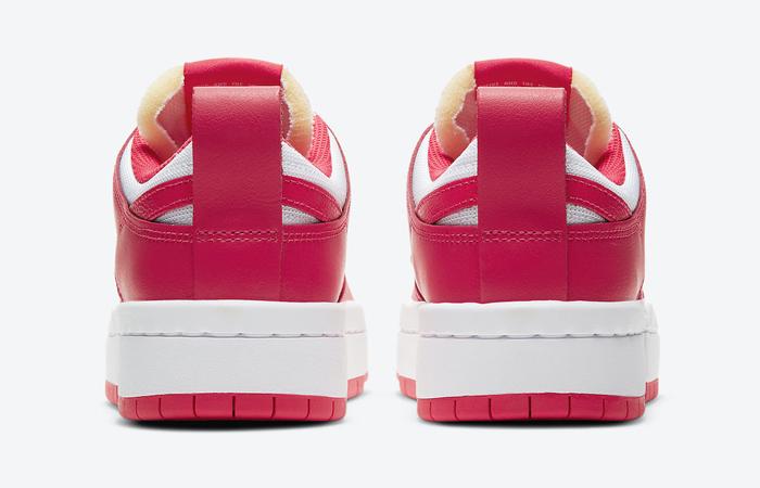 Nike Dunk Low Disrupt Siren Red White Womens CK6654-601 04