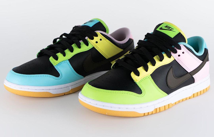 Nike Dunk Low Free 99 Pack Black Multi DH0952-001 02