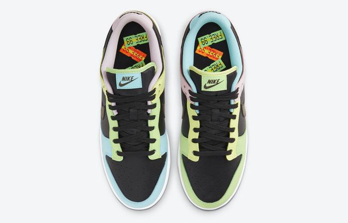 Nike Dunk Low Free 99 Pack Black Multi DH0952-001 07