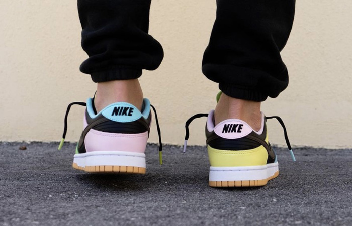 Nike Dunk Low Free 99 Pack Black Multi DH0952-001 on foot 03