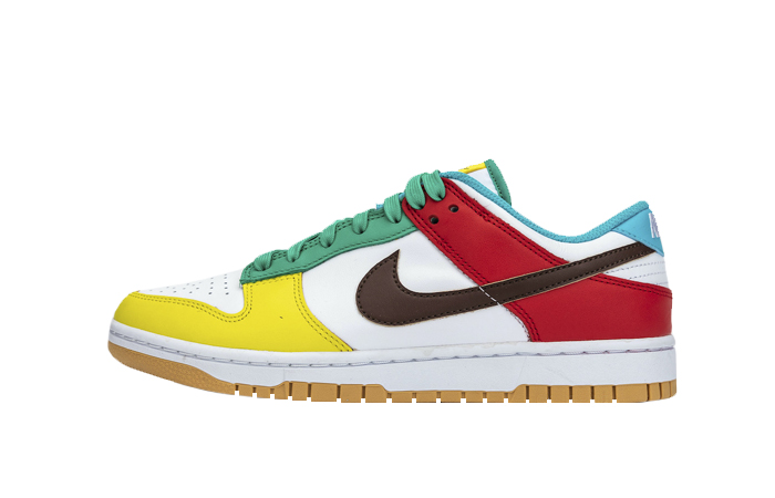 Nike Dunk Low Free 99 Pack White Roma Green DH0952-100 01