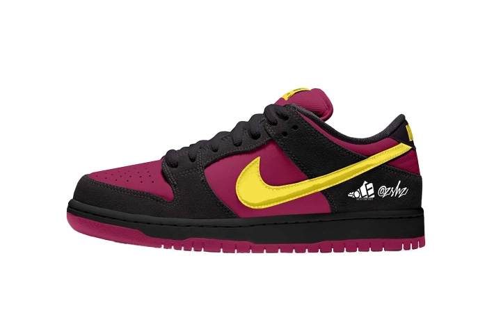 Nike SB Dunk Low Red Plum Citron BQ6817-501