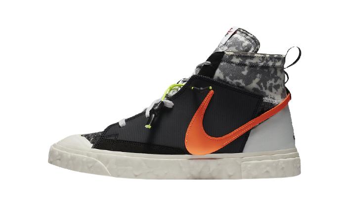READYMADE Nike Blazer Mid Black Vast Grey CZ3589-001 01