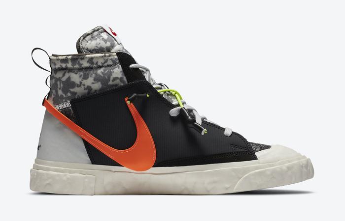 READYMADE Nike Blazer Mid Black Vast Grey CZ3589-001 06