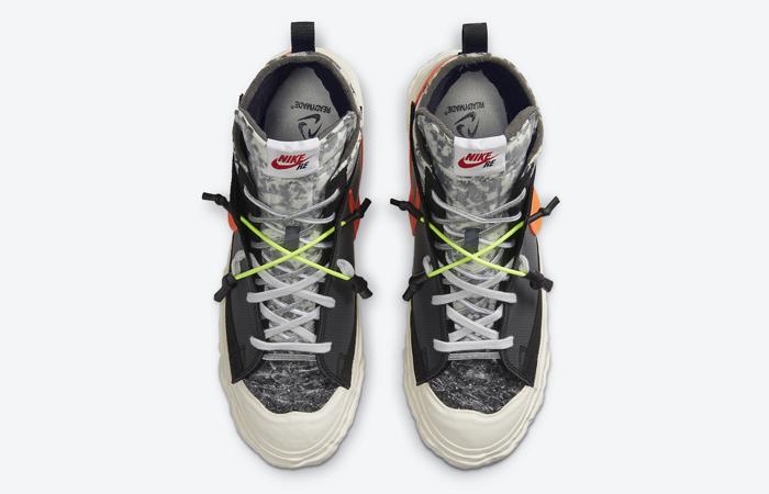 READYMADE Nike Blazer Mid Black Vast Grey CZ3589-001 07