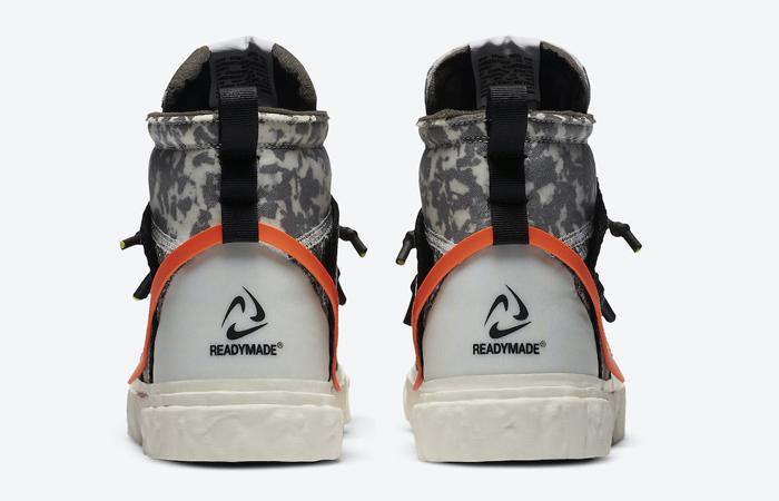 READYMADE Nike Blazer Mid Black Vast Grey CZ3589-001 08