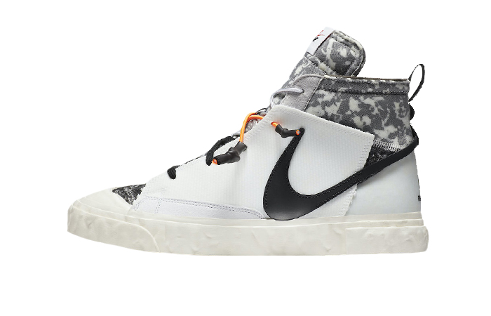 READYMADE Nike Blazer Mid White Black CZ3589-100 01