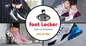 Sale on Nike Air Max Sneakers at Foot Locker