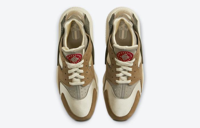 Stussy Nike Air Huarache Desert Oak DD1381-200 06