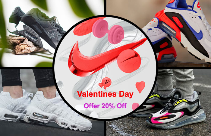 Valentines Day Promotion, 2021 Get 20% Off At Nike ft