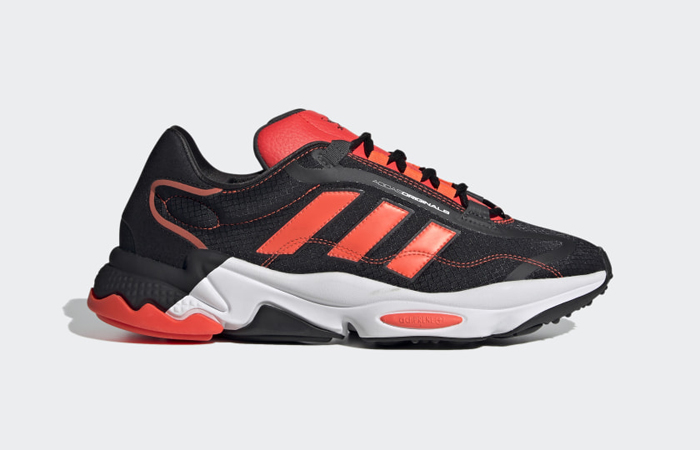adidas Ozweego Pure Black Solar Red H04536 03