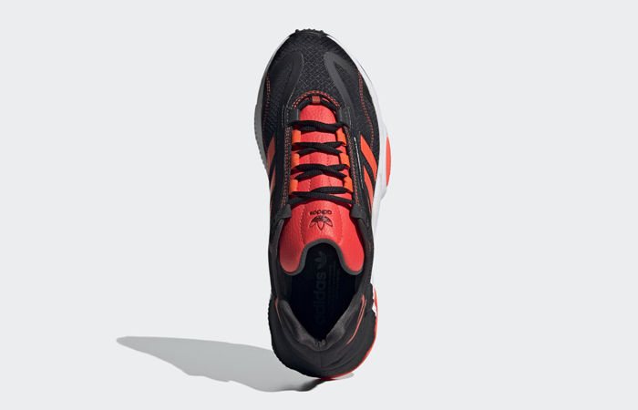 adidas Ozweego Pure Black Solar Red H04536 04