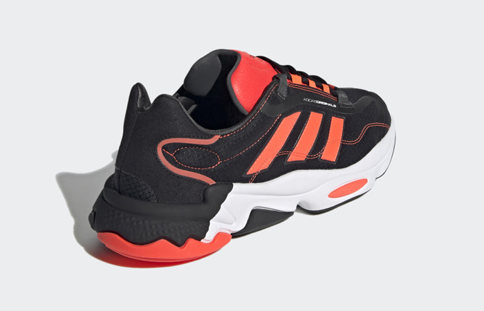 adidas Ozweego Pure Black Solar Red H04536 05