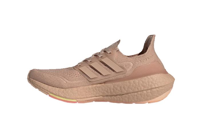 adidas Ultra Boost 21 Ash Pearl Womens FY0391 01