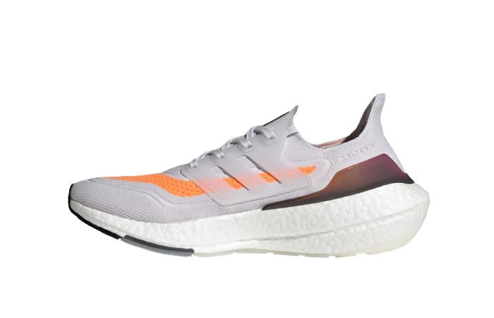 adidas Ultra Boost 21 Dash Grey Screaming Orange FY0375 01