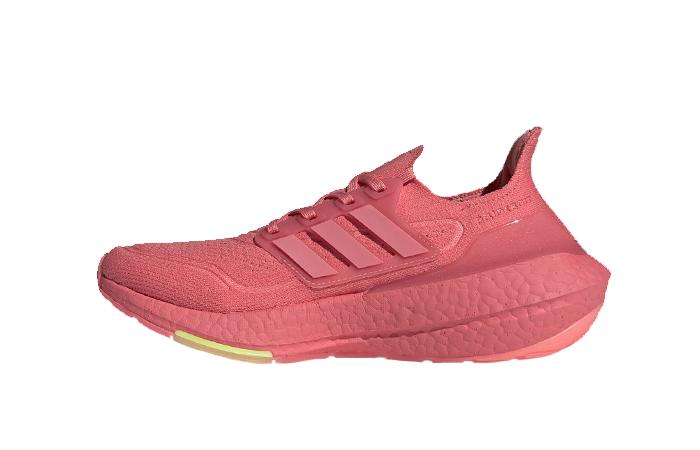 adidas Ultra Boost 21 Haze Rose Womens FY0426 01