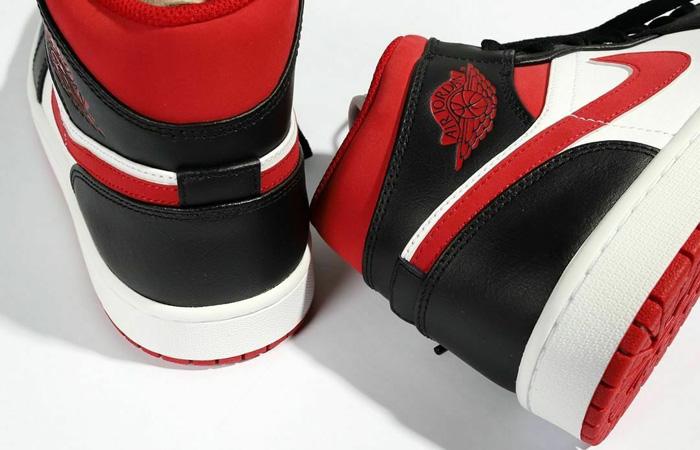 Air Jordan 1 Mid Oreo Metallic Red 554724-122 08