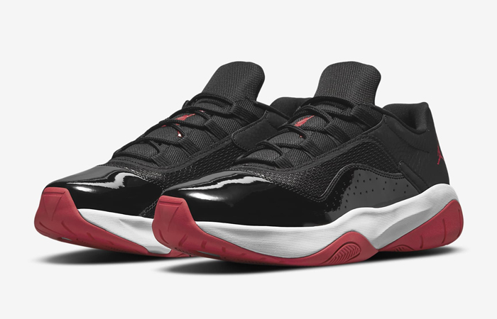 Air Jordan 11 CMFT Low Black Gym Red DM0844-005 02