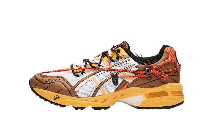 Andersson Bell ASICS Gel-1090 White Orange 1203A115-105 01