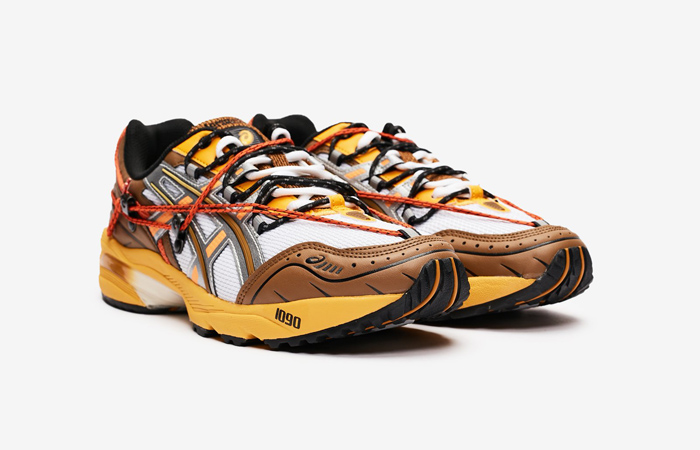 Andersson Bell ASICS Gel-1090 White Orange 1203A115-105 02