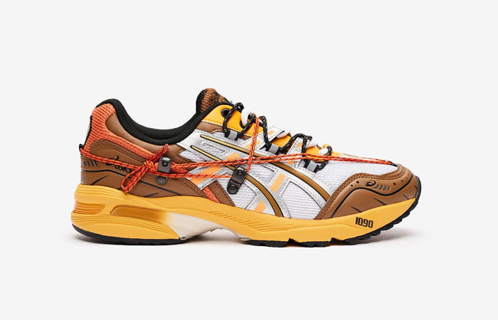 Andersson Bell ASICS Gel-1090 White Orange 1203A115-105 03
