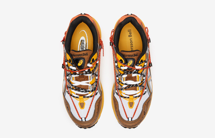 Andersson Bell ASICS Gel-1090 White Orange 1203A115-105 04
