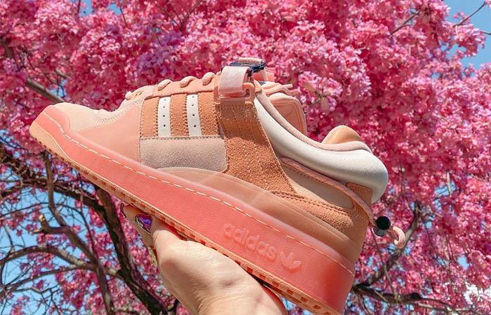 Bad Bunny adidas Forum Easter Egg Peach GW0265 04