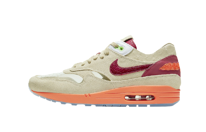 CLOT Nike Air Max 1 Kiss of Death Beige DD1870-100 01